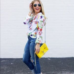 Tops - Long Sleeve Floral Button Down